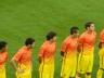 Au tour des joueurs parisiens de rentrer sur la pelouse