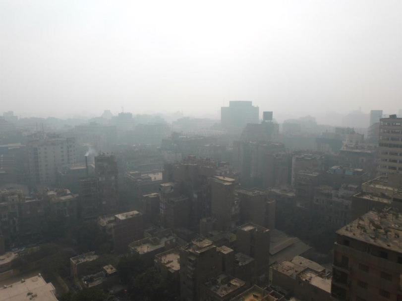Le Caire et sa pollution - Photo prise par Assiba