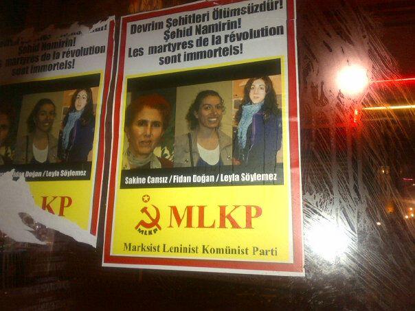 Les femmes du PKK assassinées
