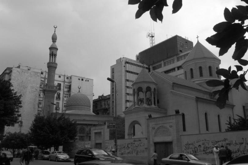 Les religions cohabitent - Photo prise par Claire