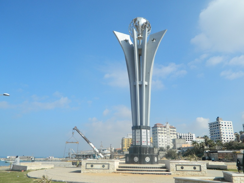 Sur le port, un hommage au Mavi Marmara