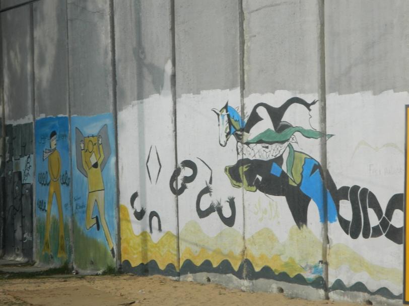 Ces dessins au Terminal de Rafah