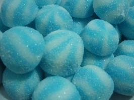 CAN051 Bisous twist bleu
