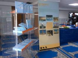 Une expo, une visite, deux conférences sur la valeur de la vie en Islam et l'islamophobie en France, des gâteaux, un verre de thé... Que demander de plus