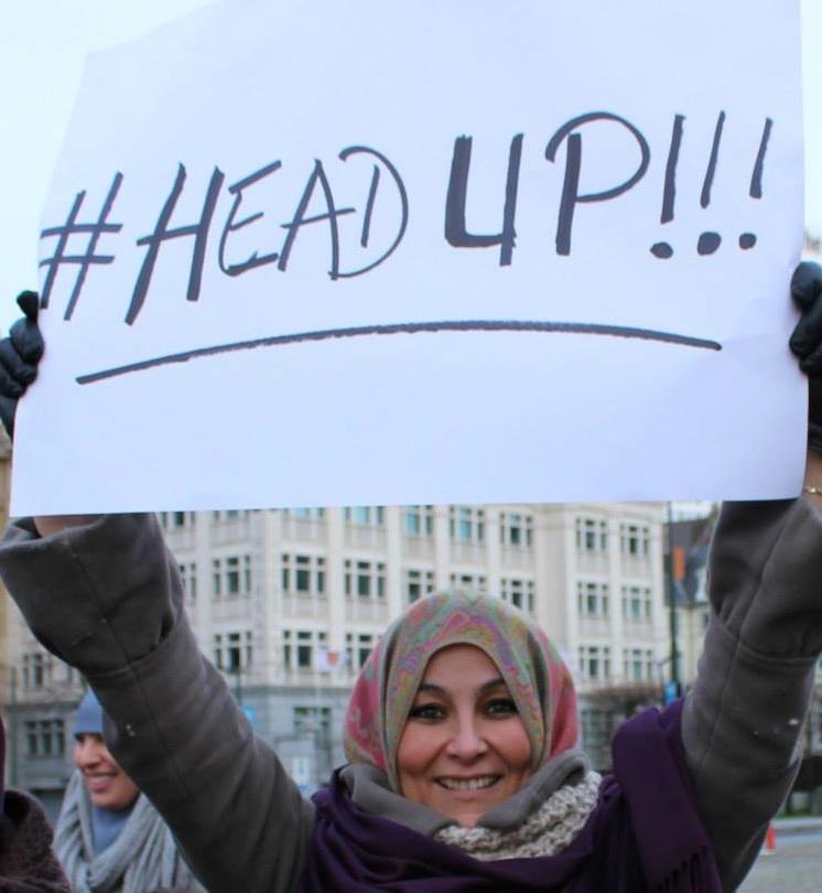 un #HeadUp avec le sourire