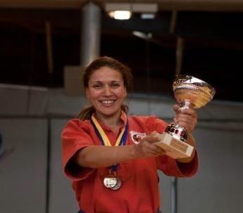 Nadera championne de France