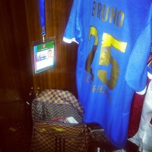 Le maillot au nom de Bruno
