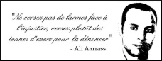 Message d'Ali Aarrass