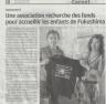 Un article dans la Provence avec la présidente, Stéphanie