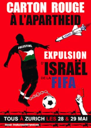 Carton Rouge à l'Apartheid