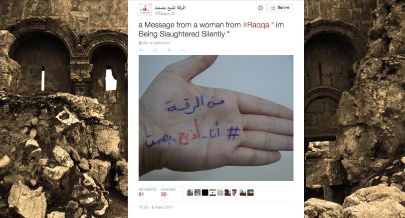 Message de Raqqa
