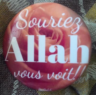 Souriez Allah vous voit !!