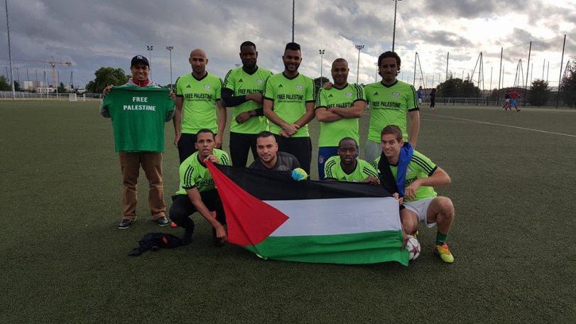 L'équipe Free Palestine