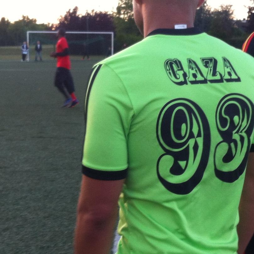 Les joueurs ont porté Gaza