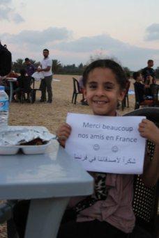 Un merci depuis Gaza