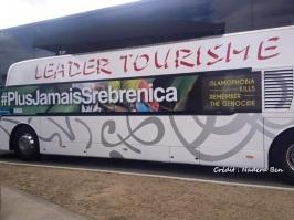 Bus #Plus Jamais Srebrenica - par Nadera Ben