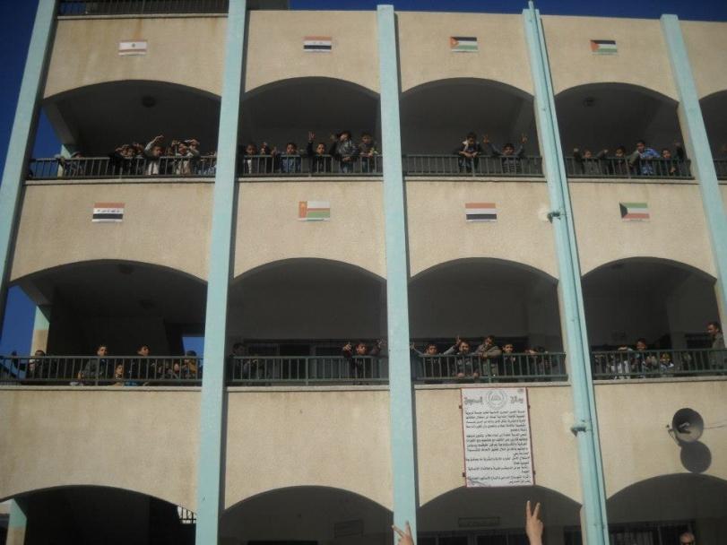 Ecole Hassen El Basri à Gaza - Siham TOUIL - Décembre 2012
