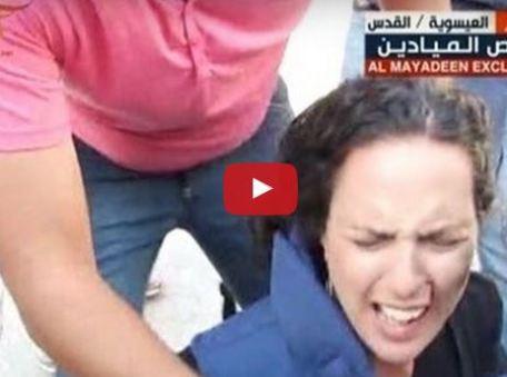 Journaliste blessée par des tirs israéliens