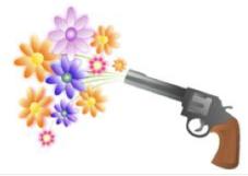 Fleur contre les armes
