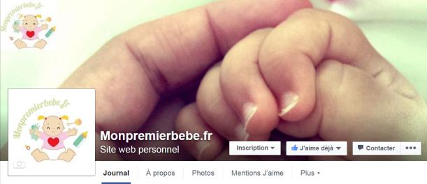 monpremierbebe.fr est sur Facebook