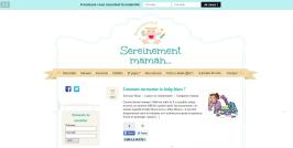 Voici le site www.monpremierbebe.fr