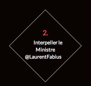 Interpeller Laurent Fabius