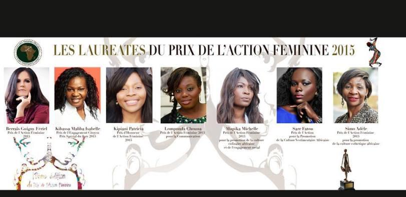 Union des Femmes Africaines - Prix de l'Action Féminine pour Feriel Berraies Guigny