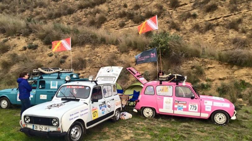 4L Trophy 2016 au Maroc, Lisa et Simon du binôme 4 Ange'L l'ont fait!