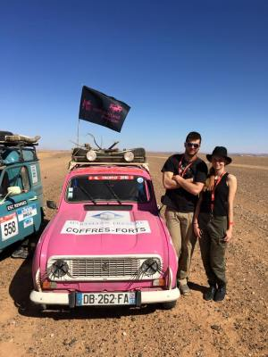 4L Trophy 2016 au Maroc, Lisa et Simon du binôme 4 Ange'L l'ont fait !