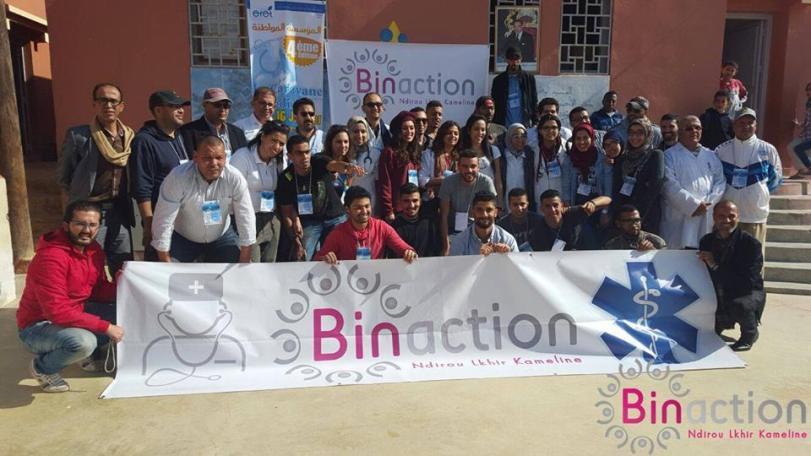 11:04:2016 - Binaction, une association marocaine au service des démunis - Caravane médicale