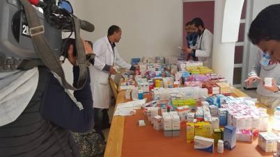 11:04:2016 - Binaction, une association marocaine au service des démunis - Distribution de médicaments