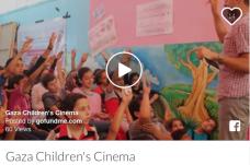 24/10/2016 - Gaza : financez ce projet cinématographique pour les enfants hospitalisés
