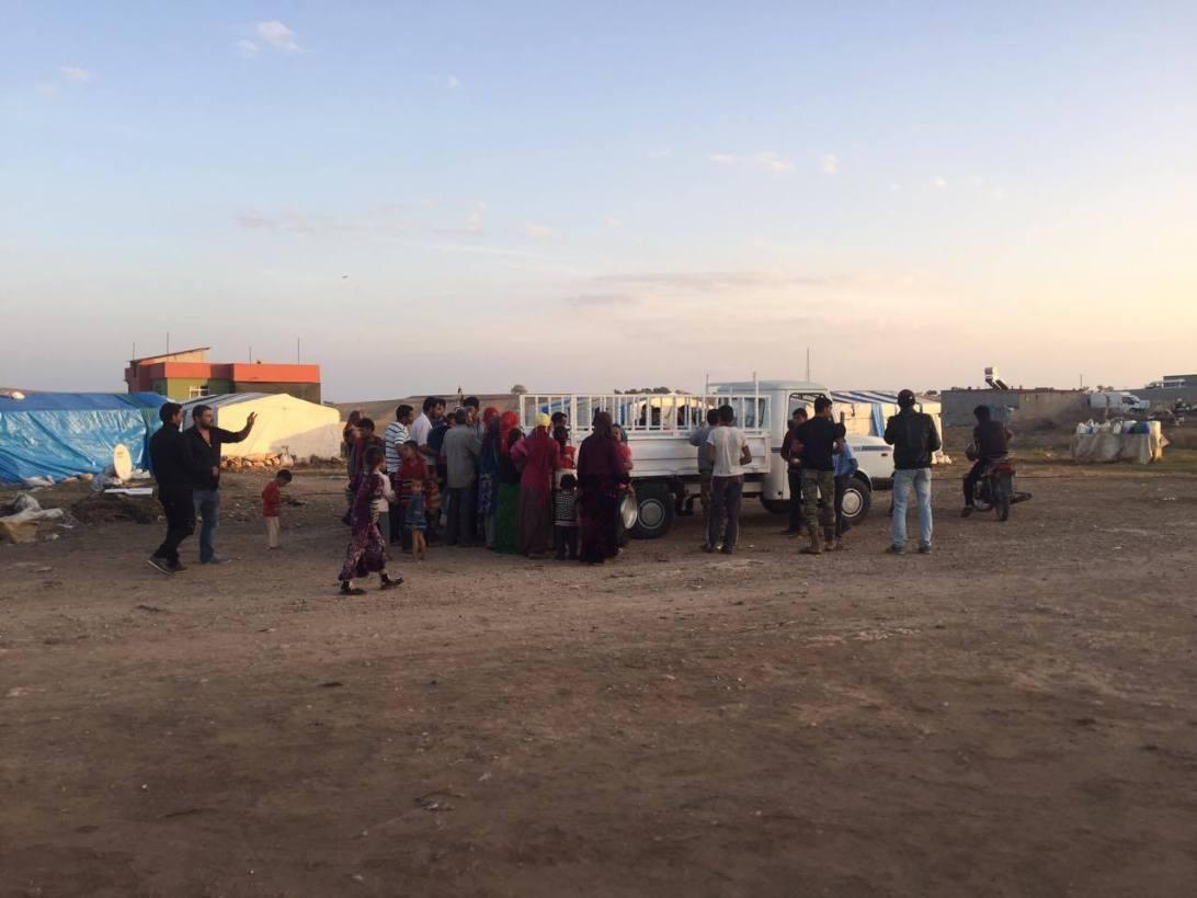28/11/2016 - Témoignage de Horia partie à la frontière turco-syrienne pour aider les réfugiés