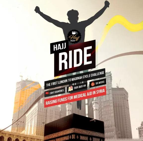 21/08/2017 - #HajjRiders, Londres-Médine à vélo pour la Syrie