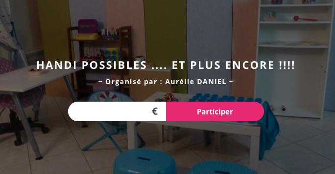 09/10/2017 - #Cagnotte pour Handi PossibleS et ses projets