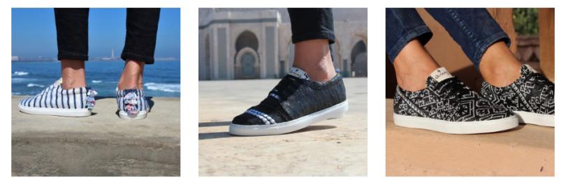 Amaz : des sneakers artisanales 100% marocaines